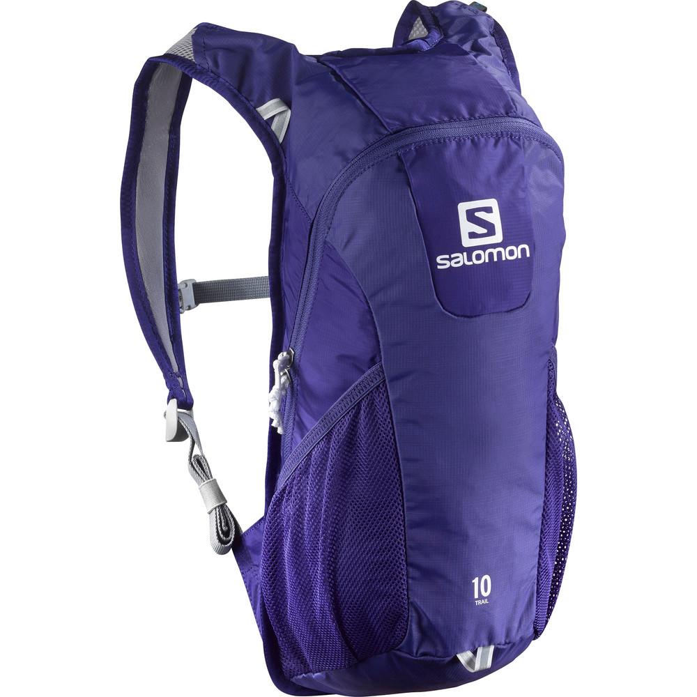 Купить Рюкзак SALOMON 2017 TRAIL 10 BRIGHT фиолетовый Рюкзаки универсальные 1326799