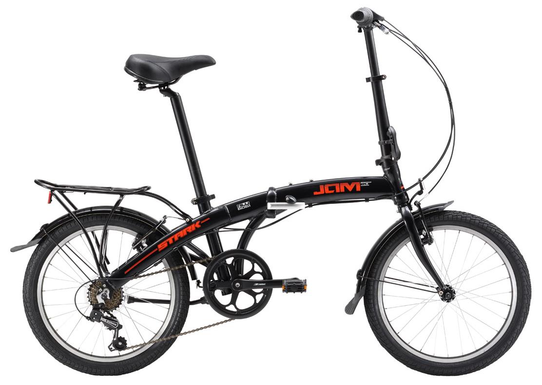 Купить Велосипед Stark Jam 20.1 V 2017 Черно-Красный, Складные велосипеды, 1317846