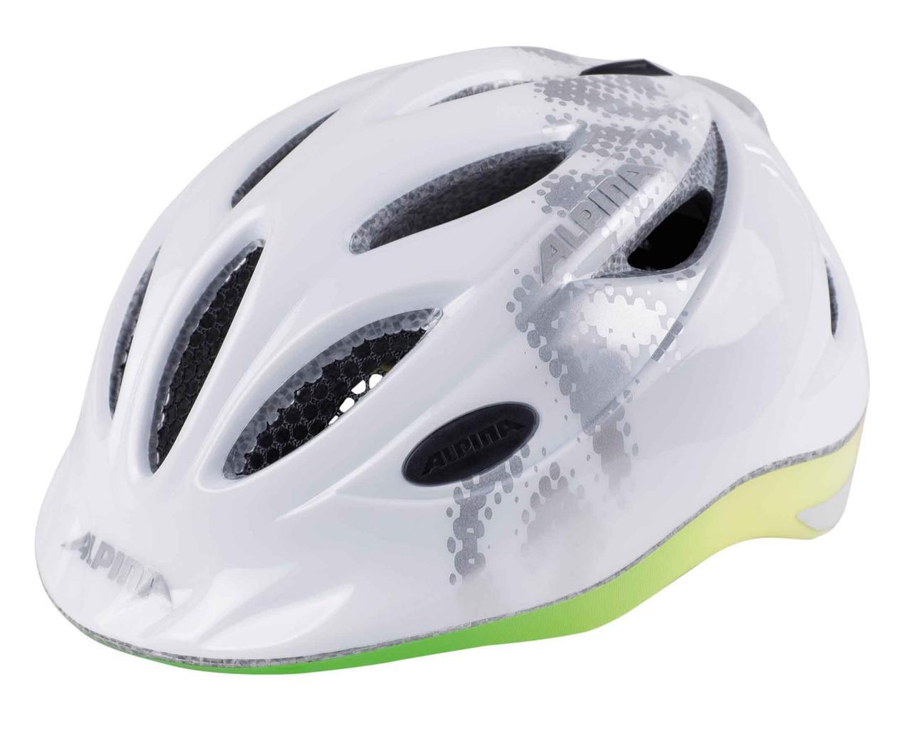 Купить Велошлем Alpina 2018 Gamma 2.0 Flash white-rainbow Шлемы велосипедные 1398942