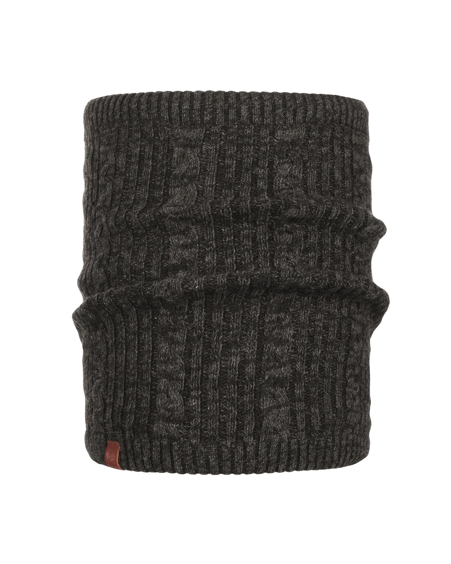 Купить Шарф BUFF KNITTED & POLAR NECKWARMER COMFORT BRAIDY BLACK Банданы и шарфы Buff ® 1377317