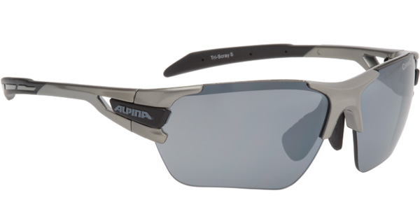 Очки солнцезащитные Alpina 2017 TRI-SCRAY S tin-black, солнцезащитные, 1180521  - купить со скидкой