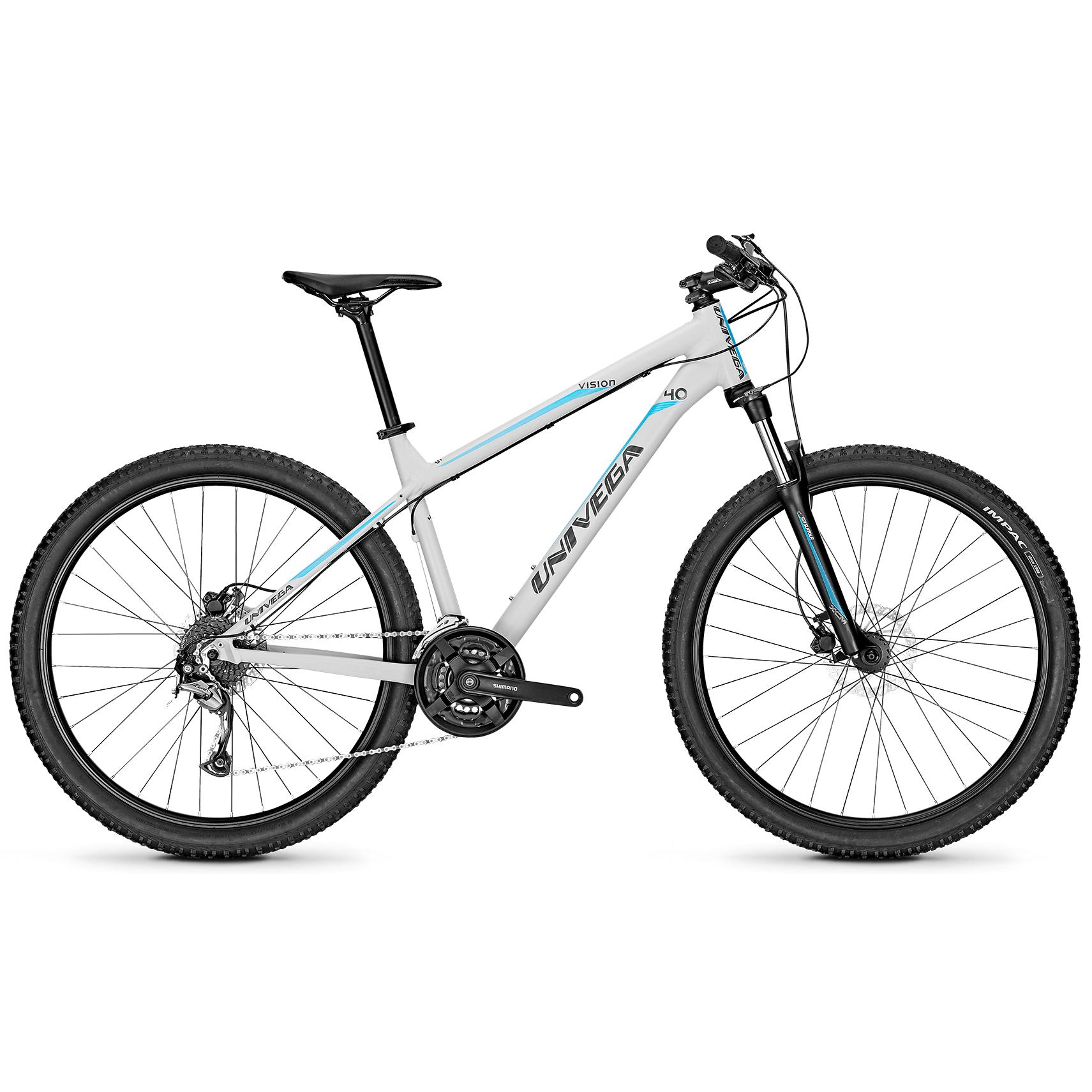 Велосипед Univega Vision 4.0 2018 Cool Grey Matt