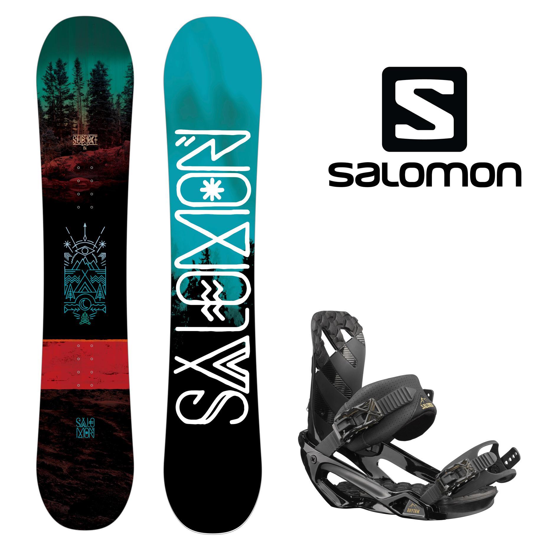 637de1f7126f Комплект Salomon Сноуборд + крепления (мужской) - купить недорого ...