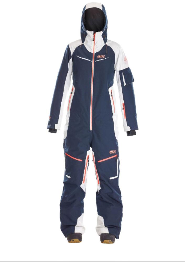 Купить Комбинезон сноубордический Picture Organic 2017-18 XENA SUIT B DarkBlue, Одежда сноубордическая, 1354692