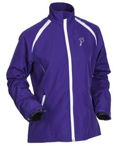 Купить Куртка беговая Bjorn Daehlie Jacket PREVAIL Women (Deep Blue/Snow White) фиолетовый/белый Одежда лыжная 709944