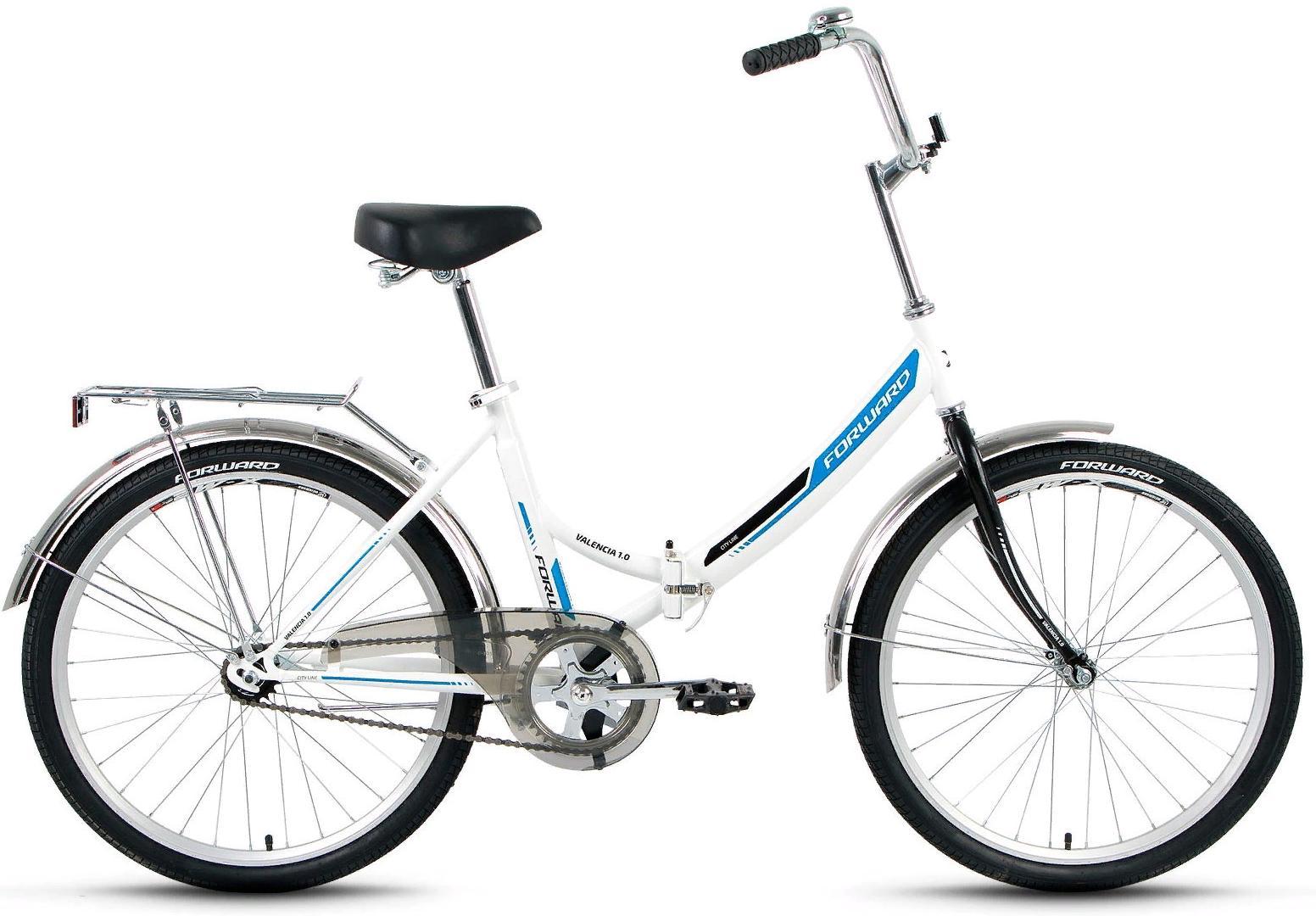 Купить Велосипед Forward Valencia 1.0 2018 white, Складные велосипеды, 1404607