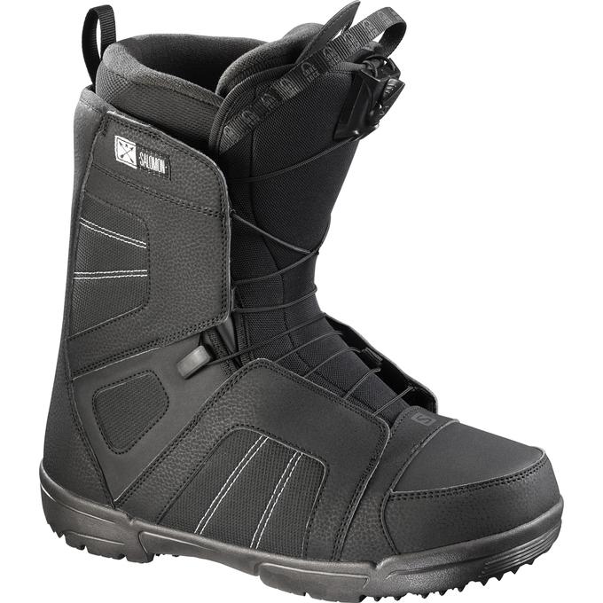 Ботинки для сноуборда SALOMON 2017-18 TITAN BLACK - купить недорого ... 4cfe9c95830