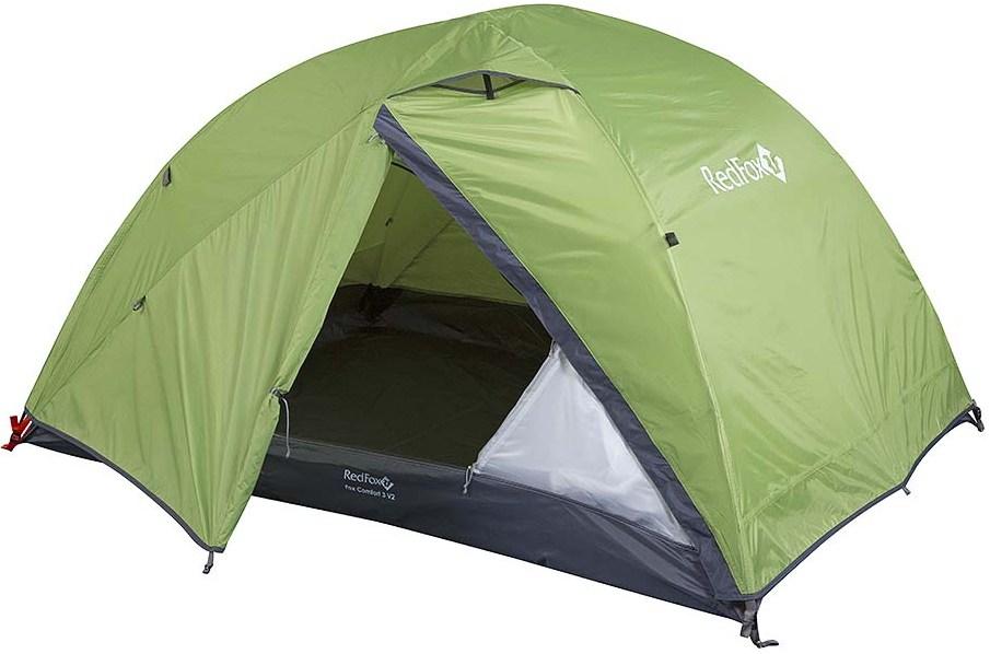 Купить Палатка Red Fox 2017 Comfort 3 V2 зеленый, Туристические палатки, 1181871