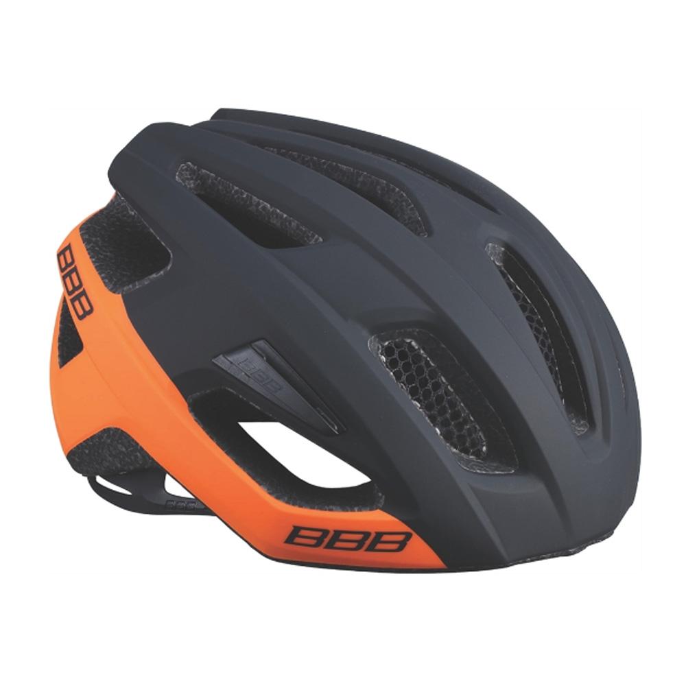 Купить Велошлем BBB 2018 Kite черный матовый/оранжевый, Шлемы велосипедные, 1298121