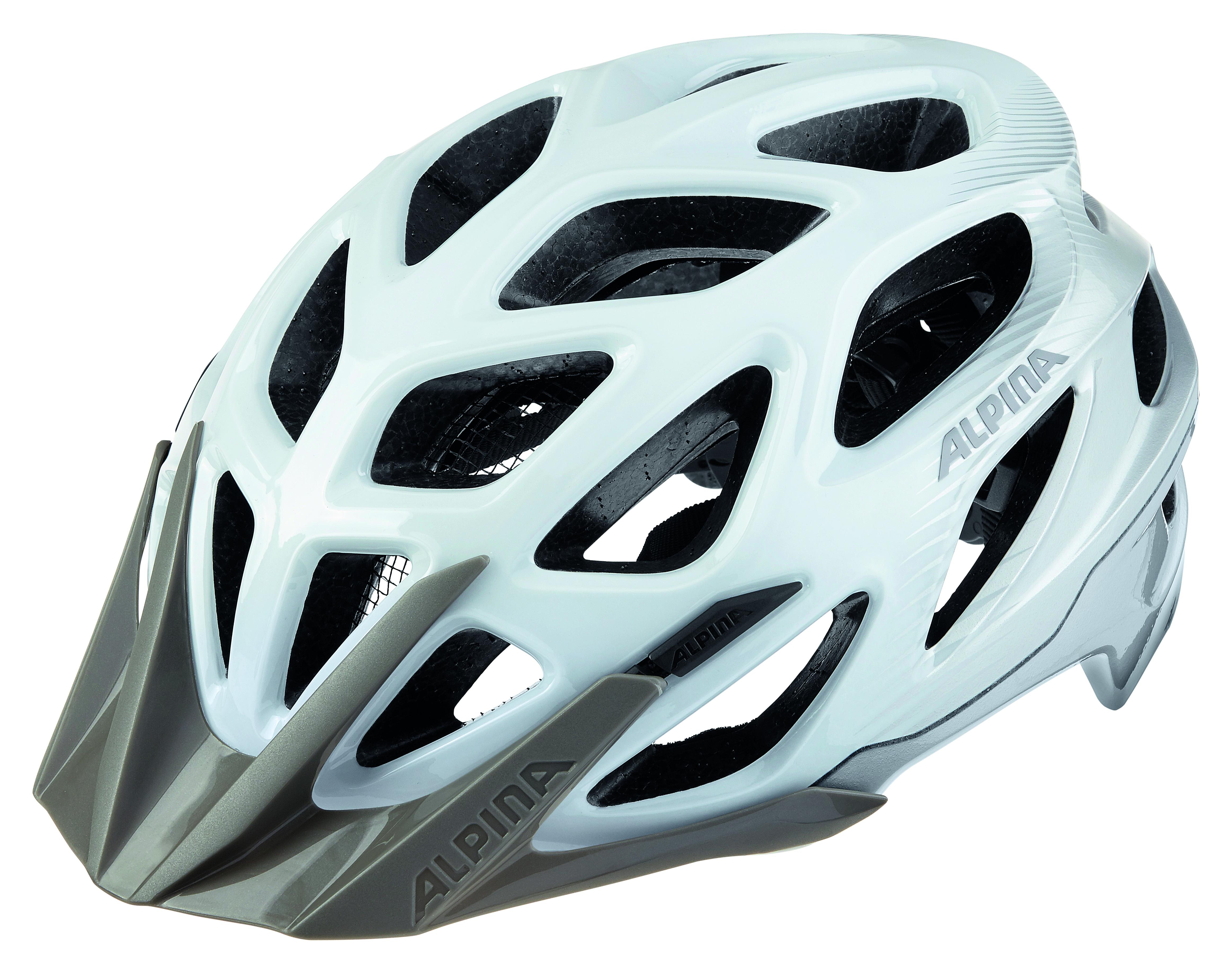 Купить Велошлем Alpina 2018 Mythos 3.0 white-silver, Шлемы велосипедные, 1323564