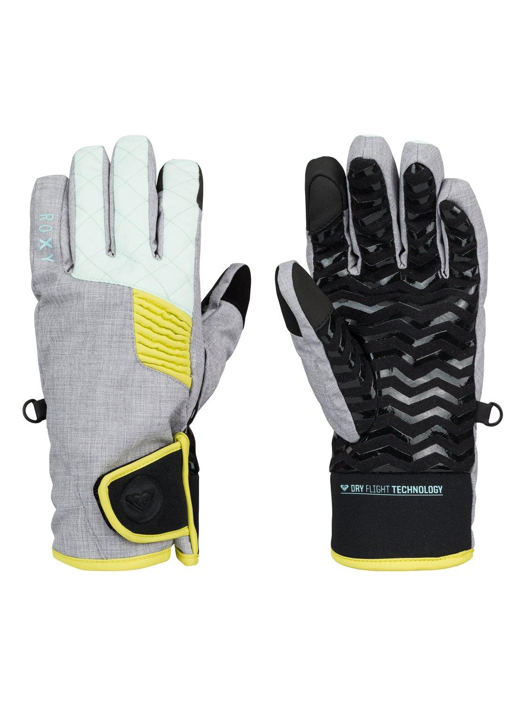 Купить Перчатки горные Quiksilver 2015-16 HIGH FIV GLOVES J GLOV HERITAGE HEATHER Перчатки, варежки 1215836