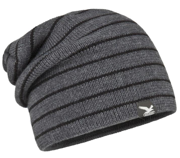 Купить Шапка Salewa ZIBU 2X KN BEANIE dark grey melange/0780 Головные уборы, шарфы 753116