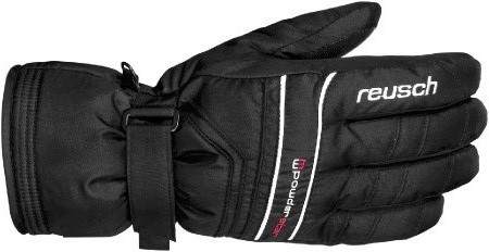 Перчатки горные REUSCH 2013-2014 SKI PISTE Powderstar R-TEX XT black / white