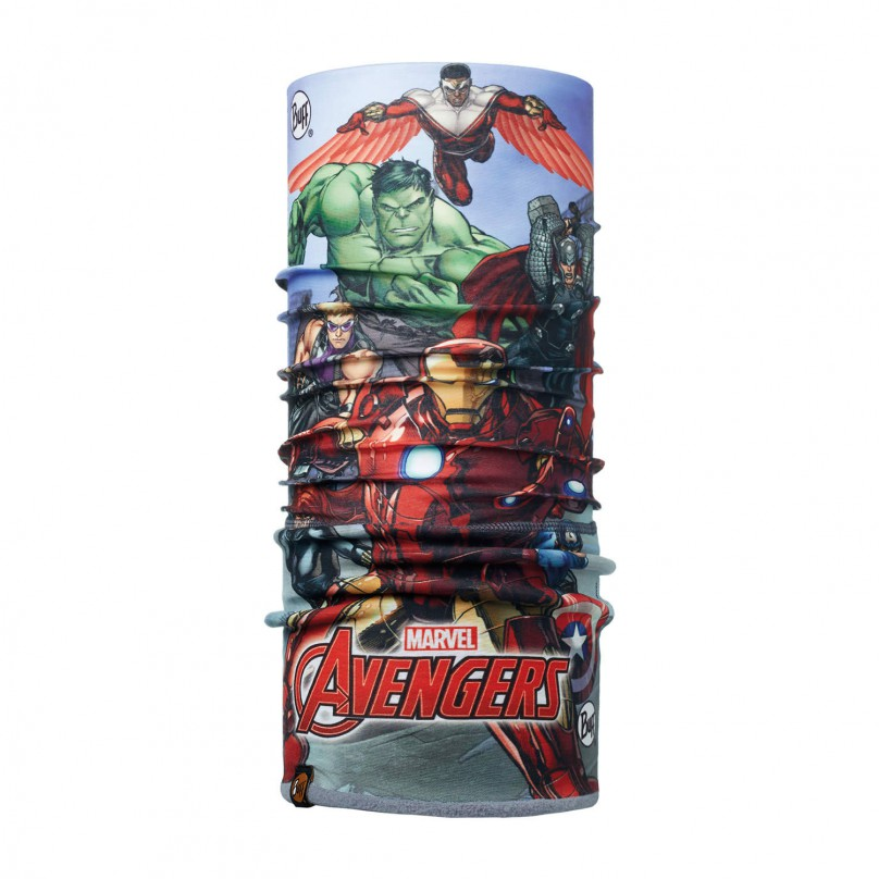 Купить Бандана BUFF Licenses SUPERHEROES JR POLAR AVENGERS ASSEMBLE MULTI / FLINT/OD Банданы и шарфы Buff ® 1343529
