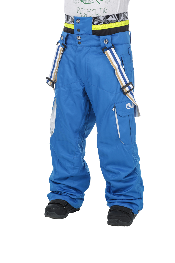 Купить Брюки сноубордические Picture Organic 2016-17 PANEL PANT A Blue/White Одежда сноубордическая 1306653
