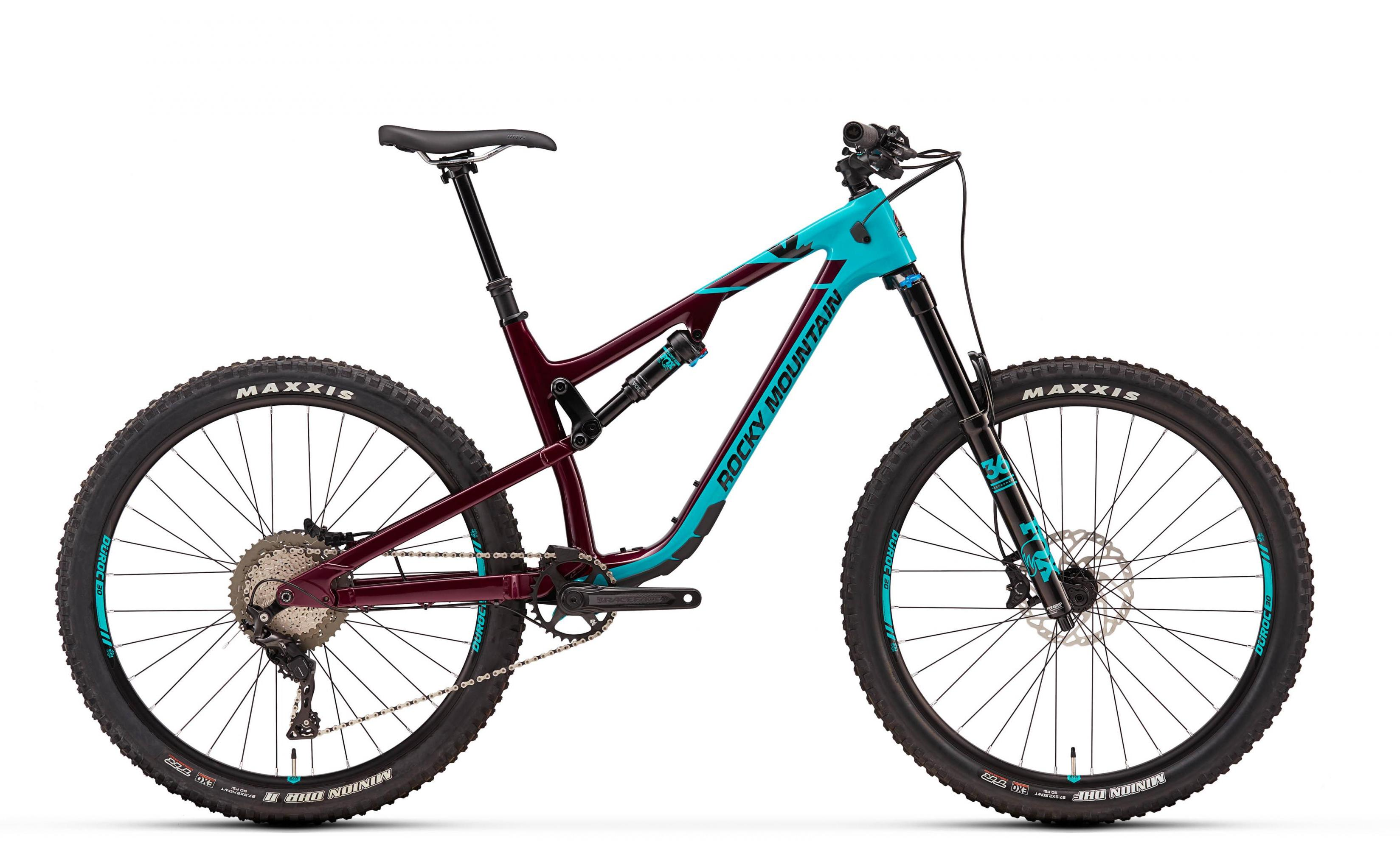 Велосипед Rocky Mountain Altitude Carbon 50 2018 Blue/red