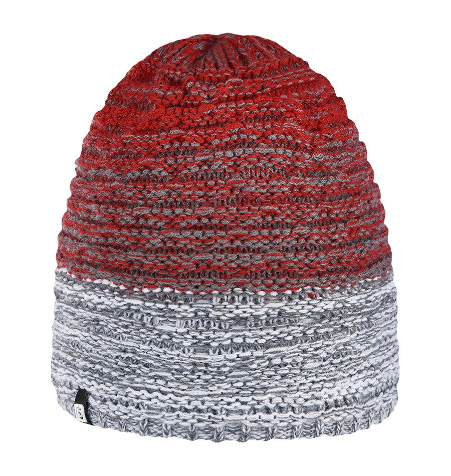 женская шапка brekka, красная