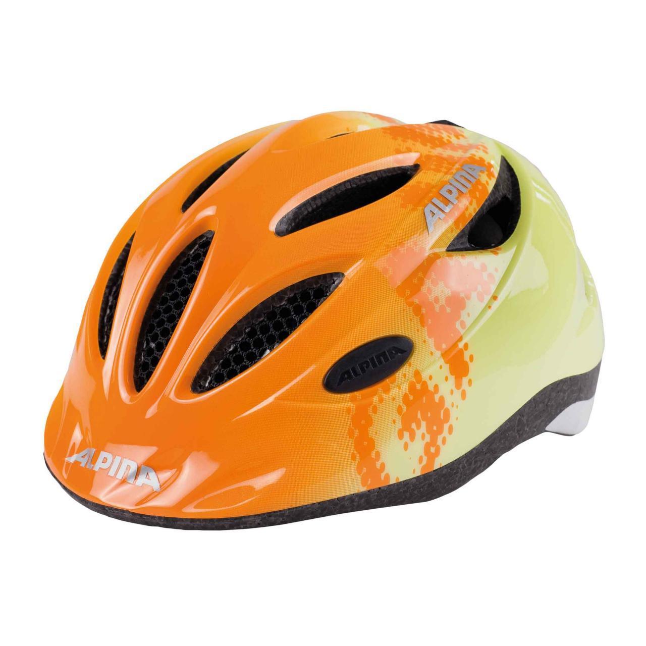 Велошлем Alpina 2018 Gamma 2.0 Orange-Yellow