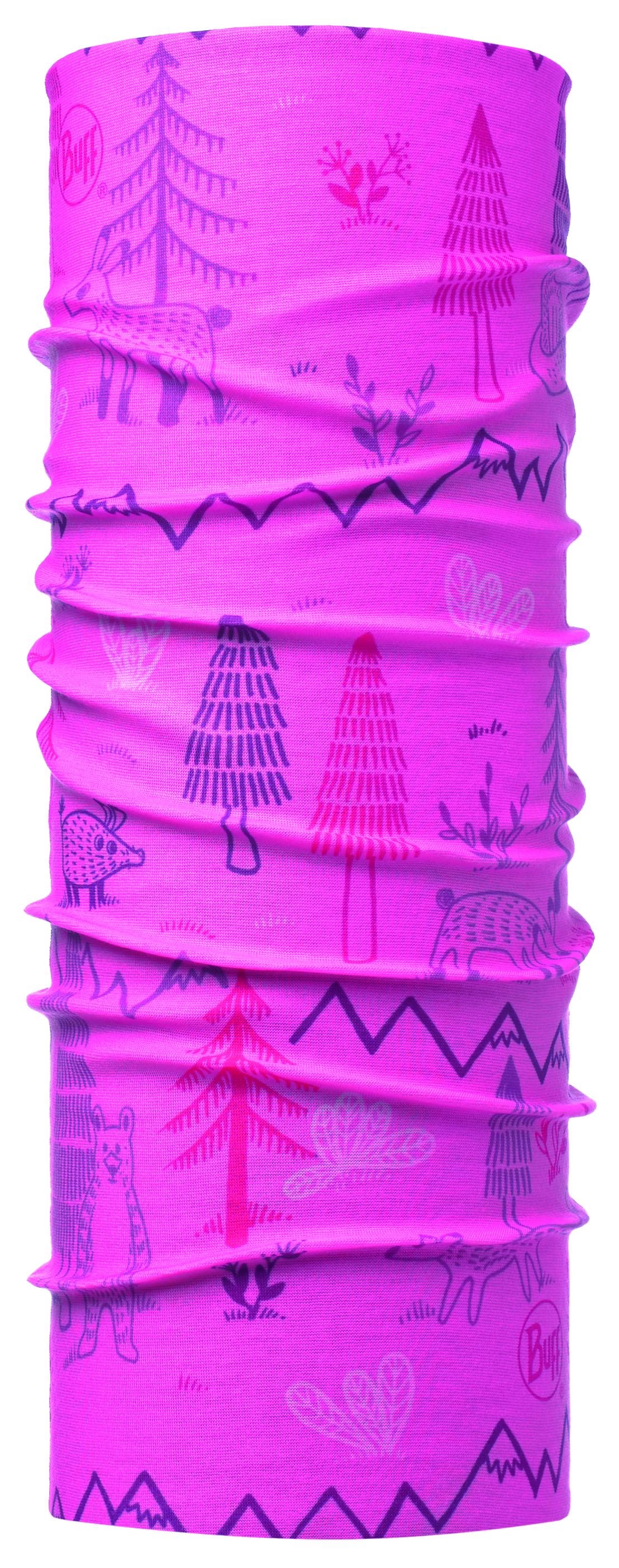Купить Бандана BUFF ORIGINAL BABY WOODS PINK, Банданы и шарфы Buff ®, 1308121
