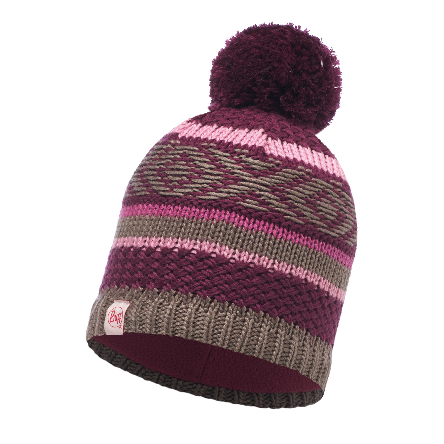 Шапка Buff Knitted & Polar Hat Junior Tipsy Amaranth Purple