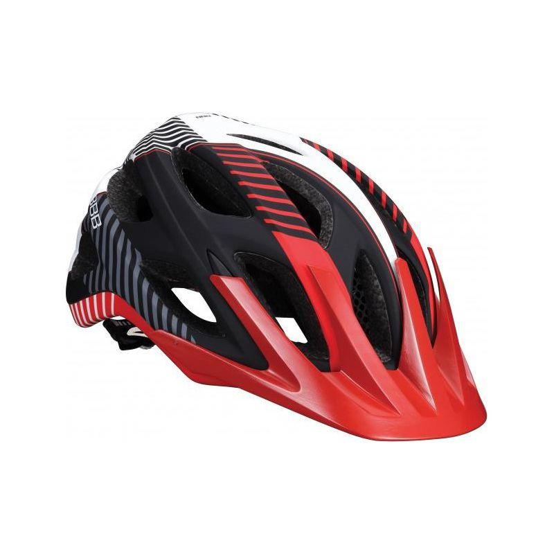 Летний Шлем Bbb Nerone Matt Black/red