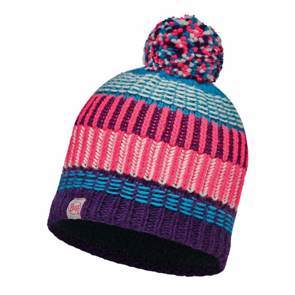 Шапка Buff Junior Knitted & Polar Hat Buff Hops Plum-Plum-Standard/od