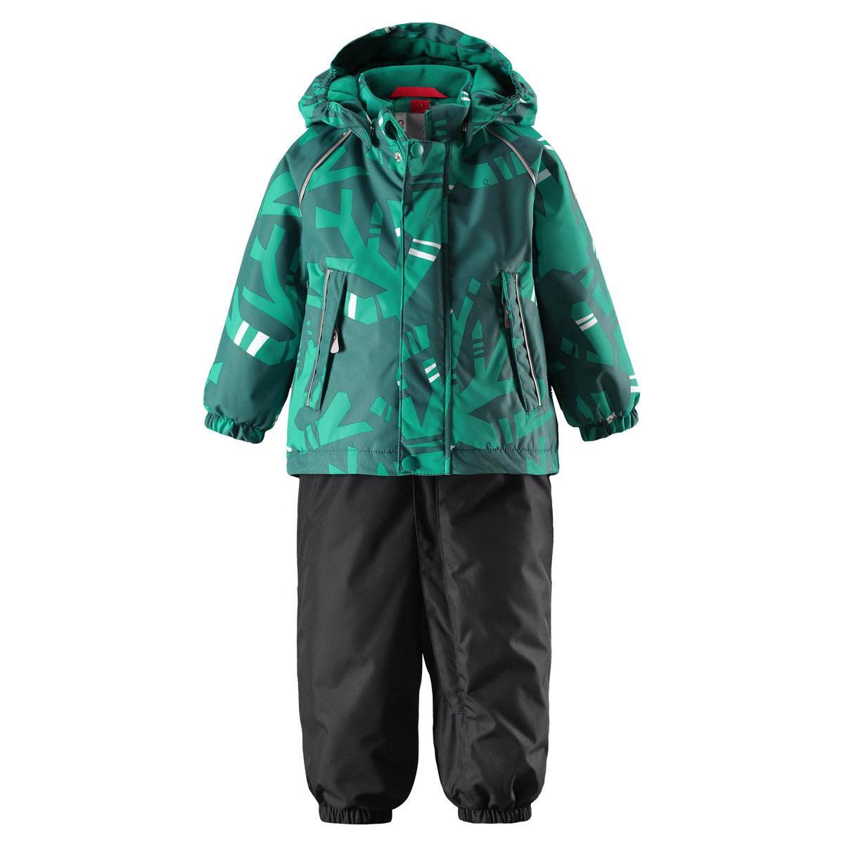 Комплект горнолыжный Reima 2017-18 Reimatec® winter set, Kuusi Green Детская одежда 1351842  - купить со скидкой