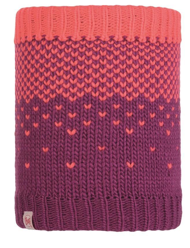Шарф Buff Child Knitted & Polar Neckwarmer Hilda Purple Raspberry