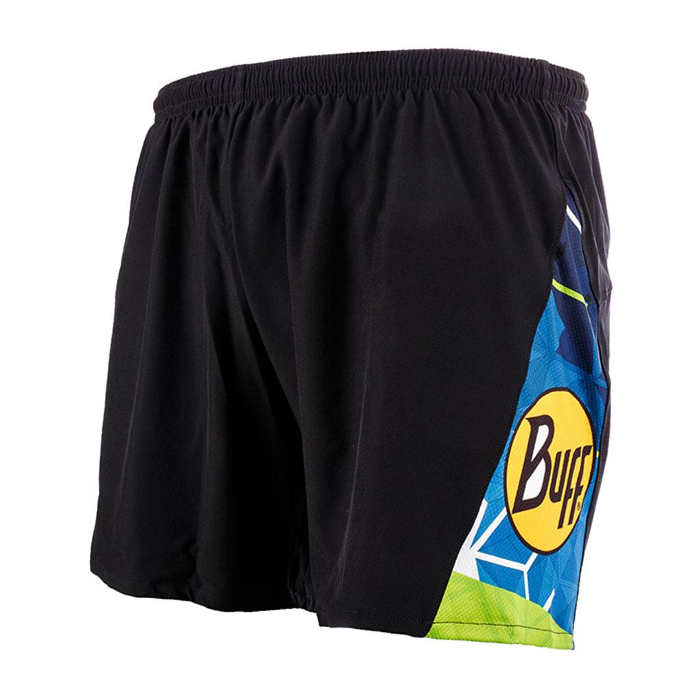 Шорты беговые BUFF ALON SHORTS BLACK Банданы и шарфы Buff ® 1338326  - купить со скидкой