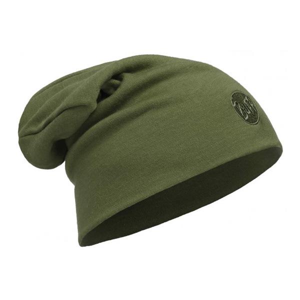 Купить Шапка BUFF WOOL MERINO THERMAL HAT SLOUCHY SOLID CEDAR Банданы и шарфы Buff ® 1263616