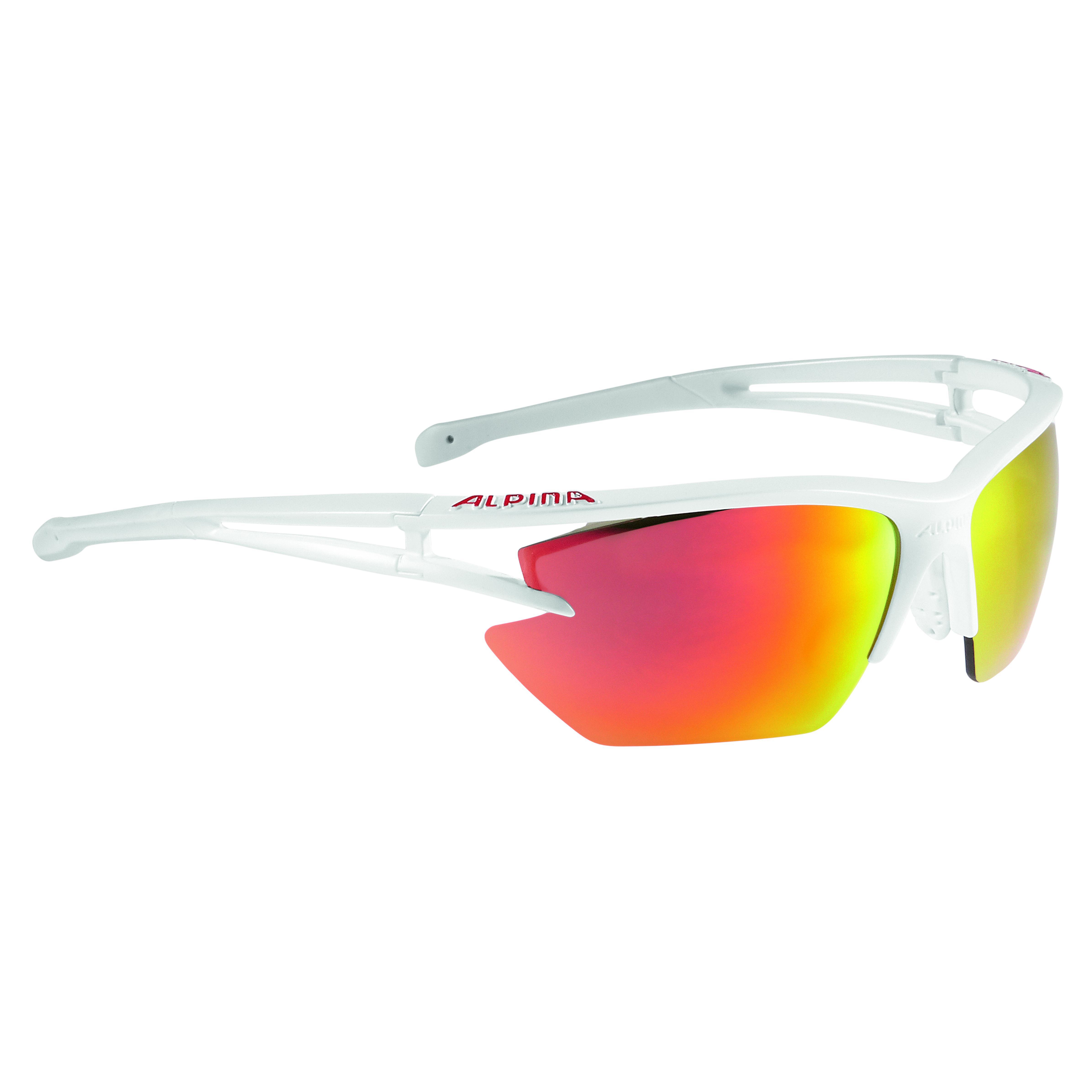 Купить Очки солнцезащитные Alpina 2018 ALPINA EYE-5 HR S CM+ white matt, солнцезащитные, 1323647