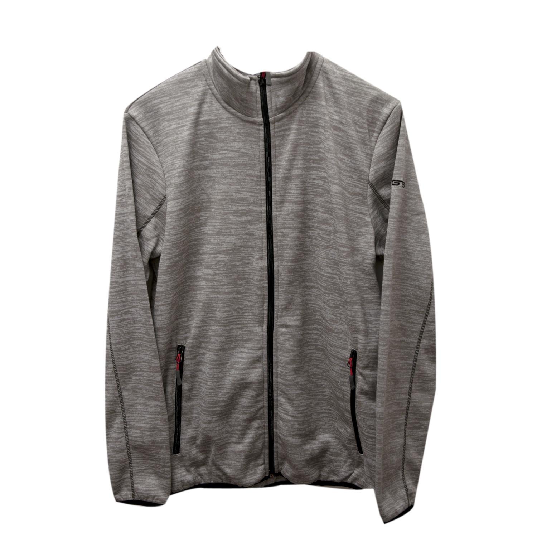 Купить Флис для активного отдыха GTS 2017-18 HERREN Strickfleece Hoodie grey, Одежда туристическая, 1366457
