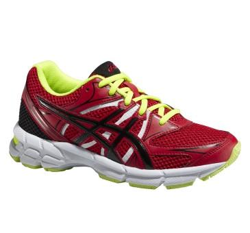 Купить Беговые кроссовки Asics 2015 GEL-PULSE 6 GS CHINESE RED/ONYX/FLASH YELLOW Кроссовки для бега 1181856