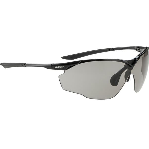 Купить Очки солнцезащитные Alpina SPLINTER SHIELD VL black, солнцезащитные, 1131709