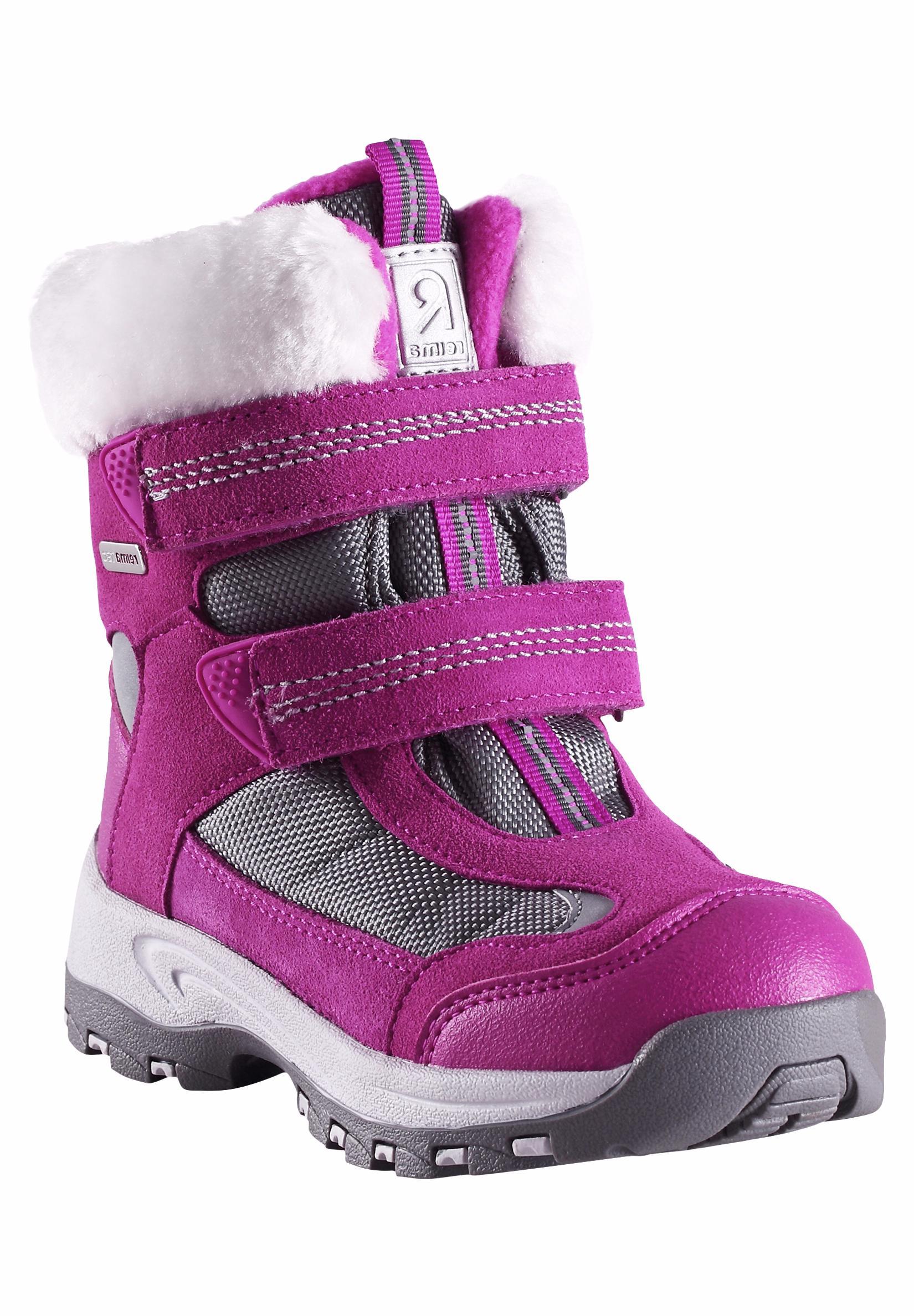 Купить Ботинки городские (высокие) Reima 2016-17 KINOS РОЗОВЫЙ Обувь для города 1274405