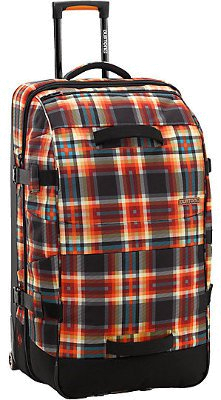 Сумка на колесах BURTON 2012-13 WHEELIE SUB MAJESTIC BLACK PLAID