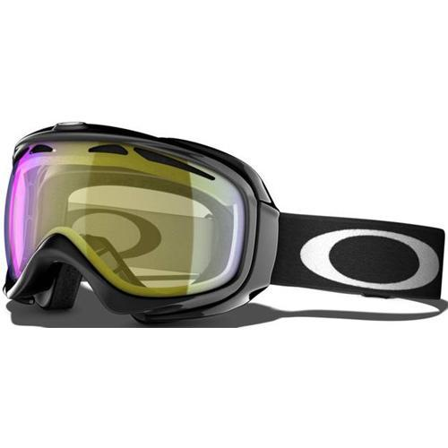 Очки горнолыжные Oakley ELEVATE Jet Black w/HI Yellow