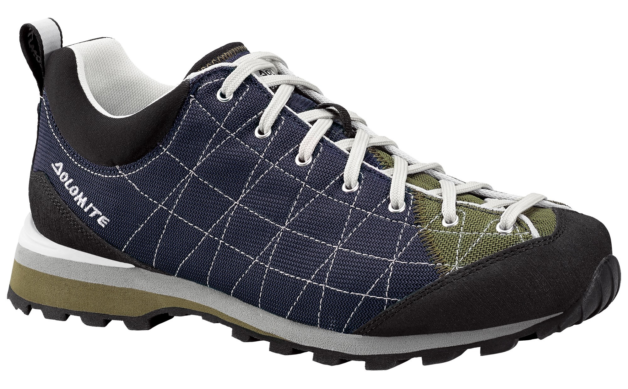 Ботинки для хайкинга (высокие) Dolomite 2017-18 Diagonal Lite Blue Navy/Army Green Треккинговая обувь 1331791  - купить со скидкой