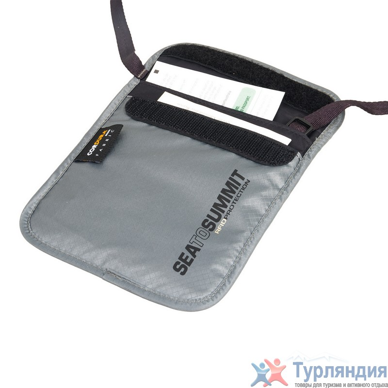 Кошелек Seatosummit Neck Wallet Rfid Grey