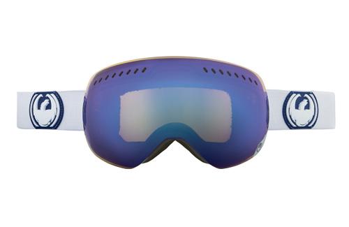 Купить Очки горнолыжные DRAGON APXS White (Blue Steel), горнолыжные, 910485