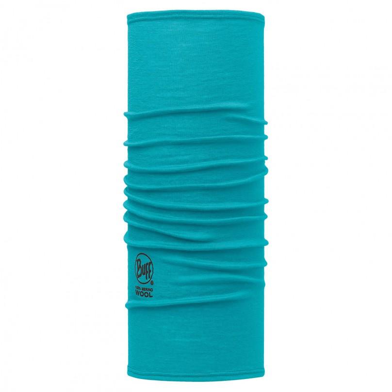 Купить Шарф BUFF Wool Plain SLIM FIT MERINO WOOL SOLID BLUE CAPRI Банданы и шарфы Buff ® 1263402