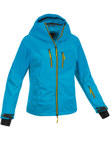 Купить Куртка туристическая Salewa MOUNTAINEERING ALPINDONNA ALBONASKA 3.0 PTX W JKT opale/8490/2710, Одежда туристическая, 1021997