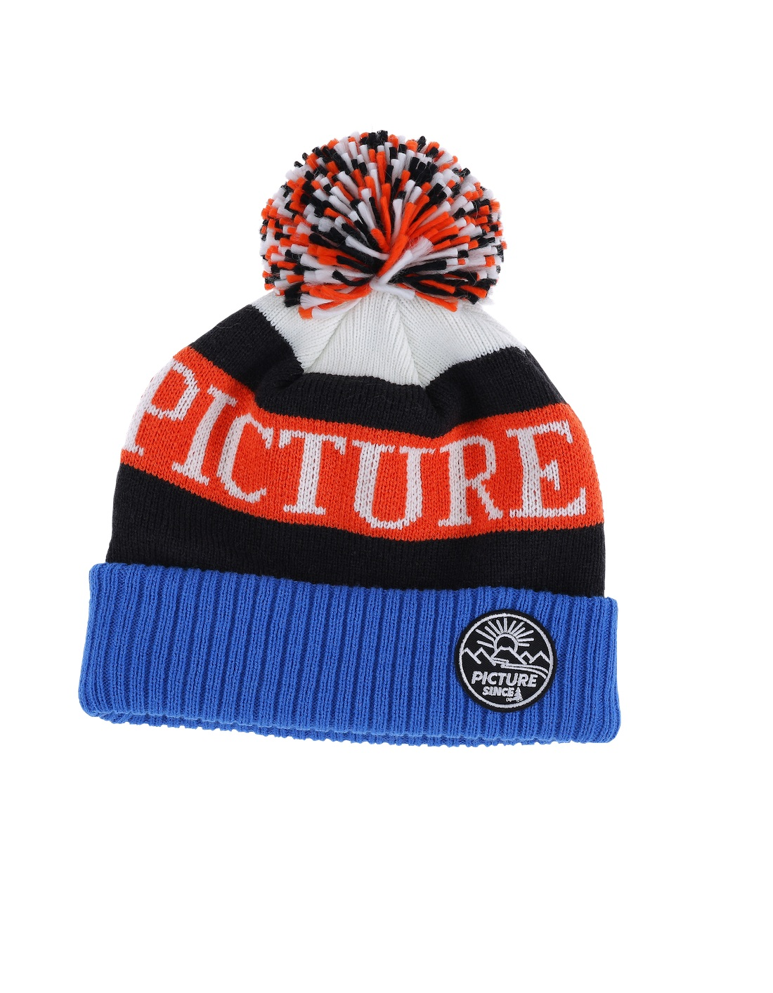 Купить Шапка Picture Organic 2016-17 IGOR B White/Black/Orange Головные уборы, шарфы 1306662