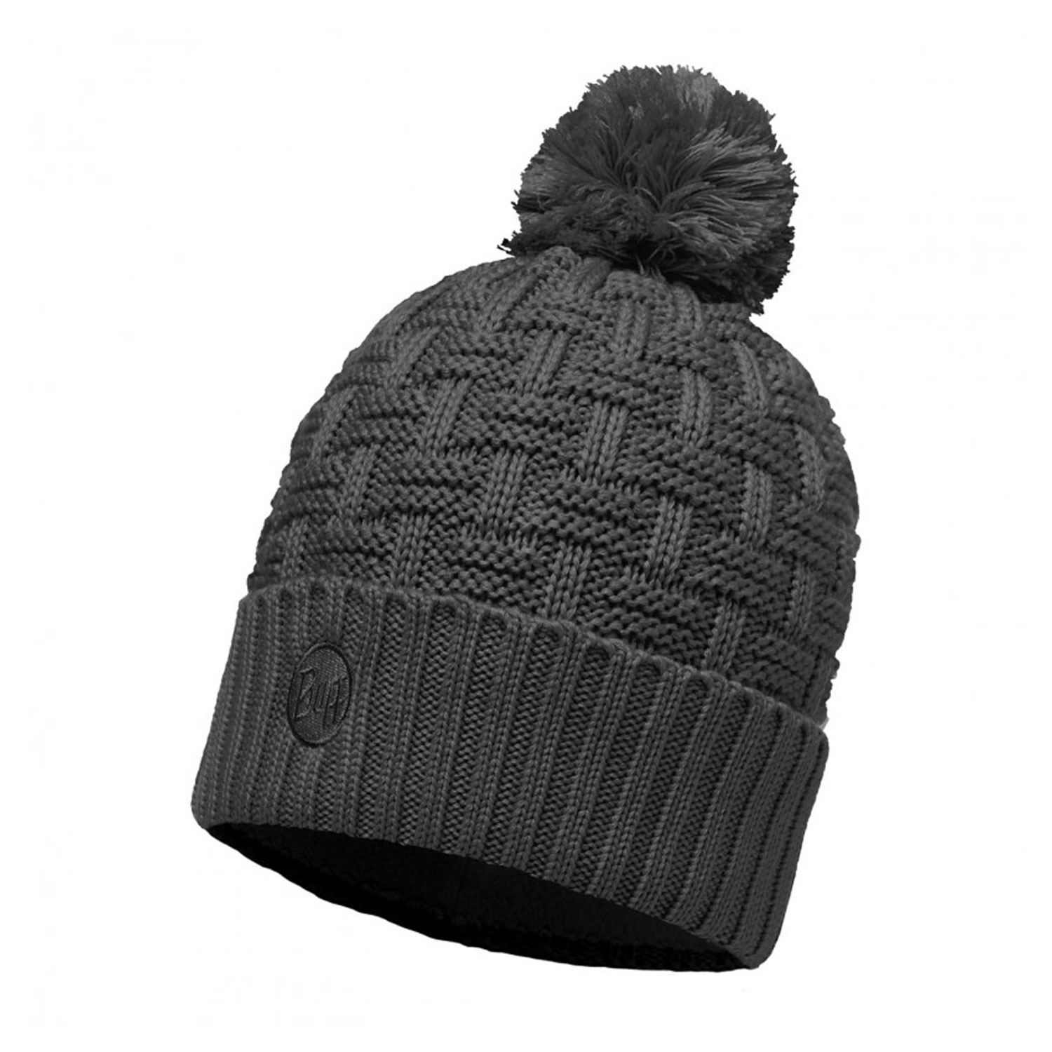 Шапка Buff Knitted & Polar Hat Airon Melan Grey Melange