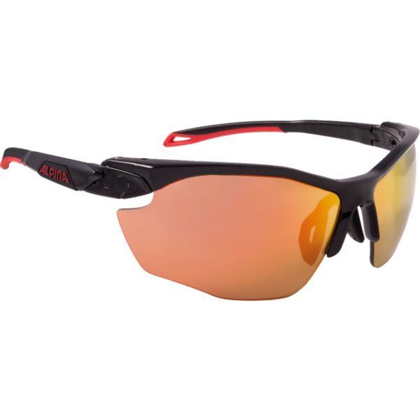 Купить Очки солнцезащитные Alpina 2018 TWIST FIVE HR CM+ black matt-red 1398831