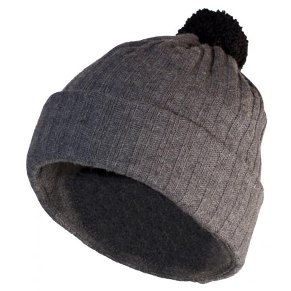 Зимний Шлем Helt-Pro 2012-13 Pompom Rib Grey Grey Rib