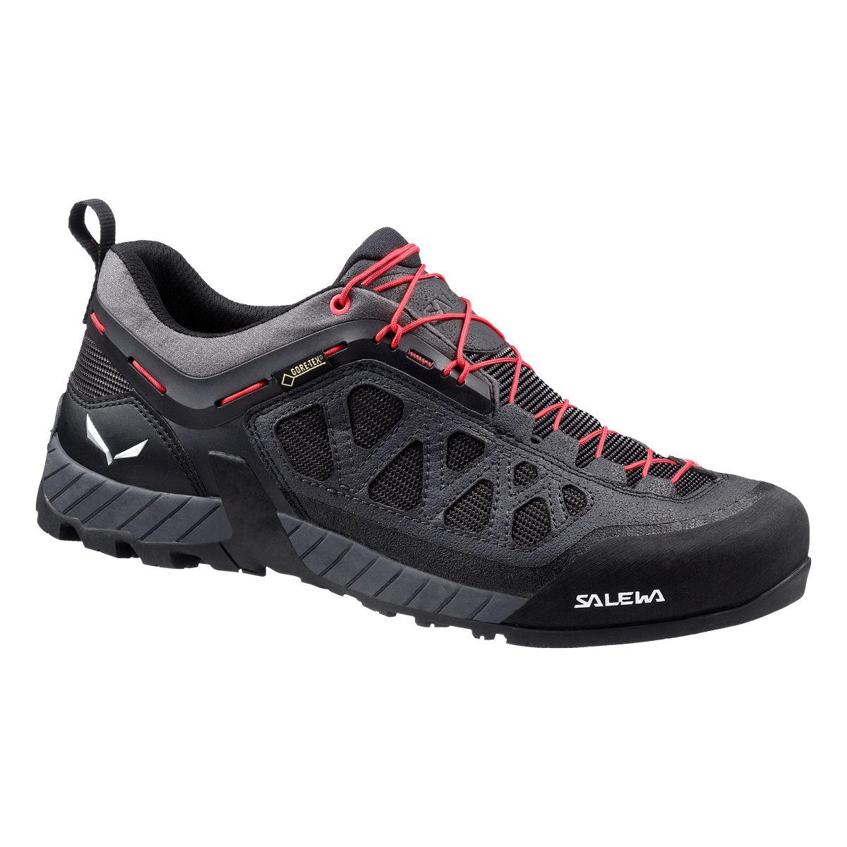 Купить Ботинки для треккинга (низкие) Salewa 2017 WS FIRETAIL 3 GTX Black Out/Hot Coral Треккинговая обувь 1240718