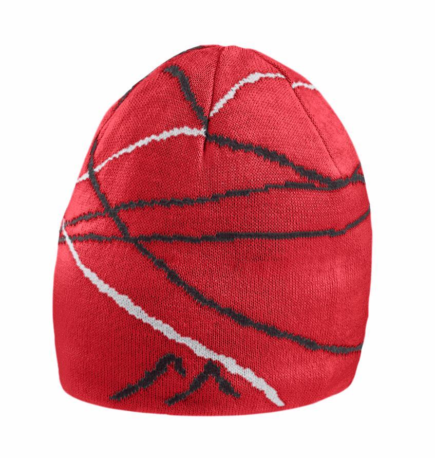 женская шапка maier, красная