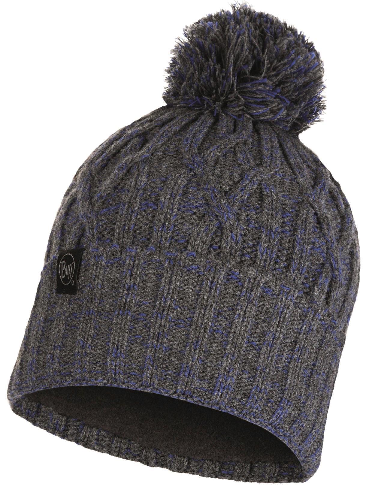 Шапка Buff Knitted & Polar Hat Idun Grey