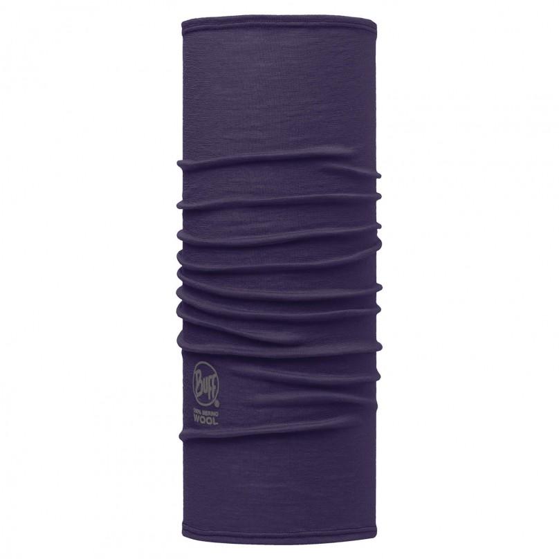 Купить Шарф BUFF Wool Plain SLIM FIT MERINO WOOL SOLID PLUM, Банданы и шарфы Buff ®, 1263400